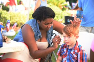 July 3rd Face Painting