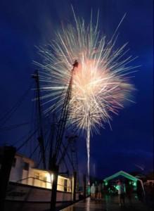 Apalachicola Independence Eve Fireworks