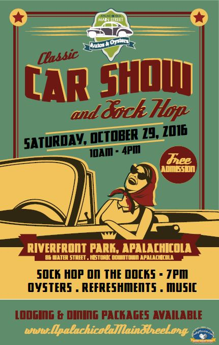Car show poster photo