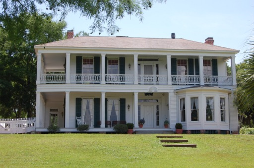 The Orman House State Park was Thomas Orman's home and is open to the public for tours.