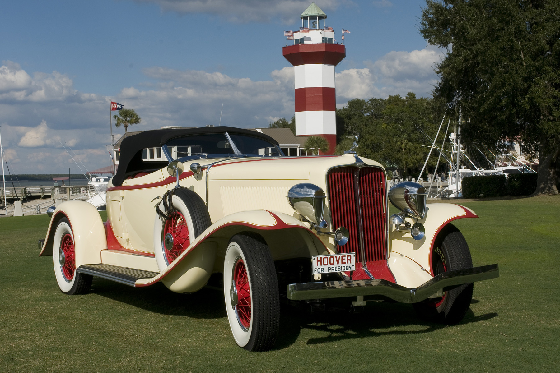This 1932 Auburn Boattail Speedster owned by J.C. O'Steen of Tallahassee will be on display at the show.