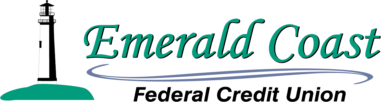 Emerald coast credit union logo